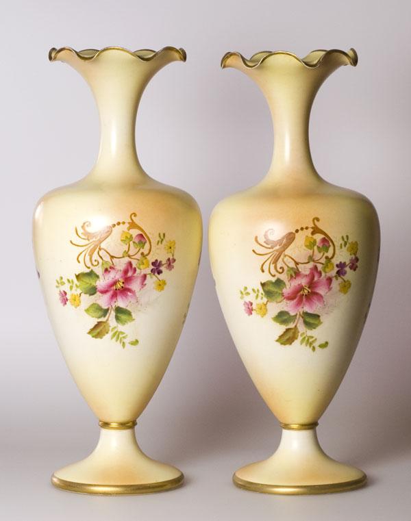 Style And Design Wiltshaw Robinson Carlton Ware Vase Stoke Ceramic