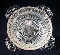 Sowerby Pressed Glass dish